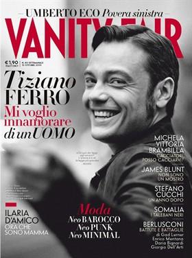 Tiziano Ferro Vanity Fair