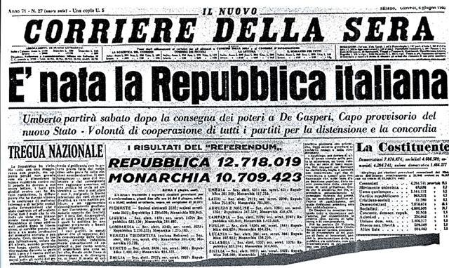 La nascita della Repubblica celebrata in piazza Maggiore