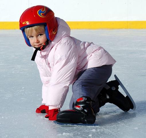 Pattinare sul ghiaccio a Prato