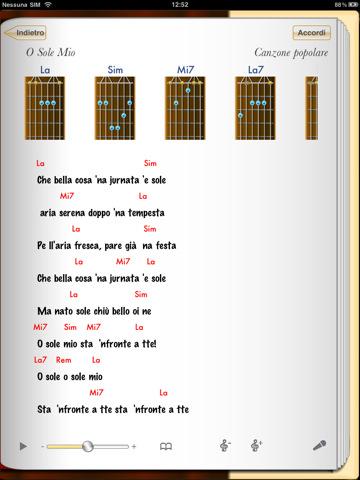 Spartiti e canzoni per chitarra
