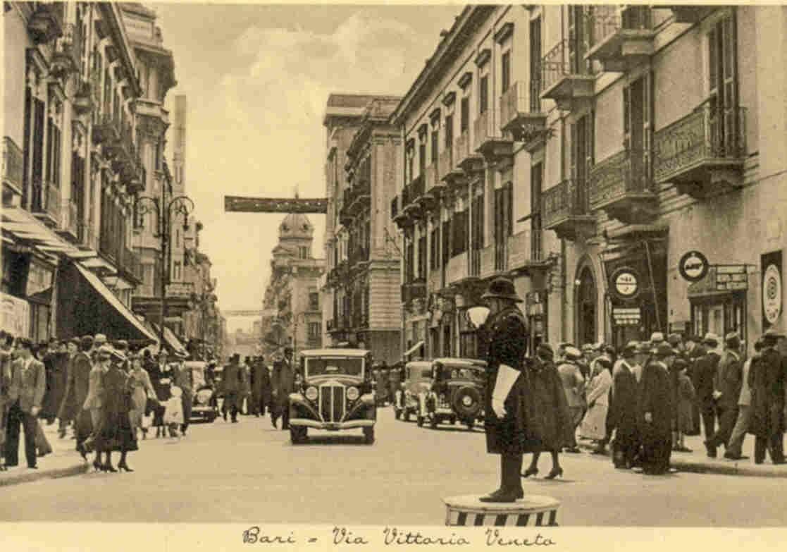 Via Vittorio Veneto gi  Via Sparano