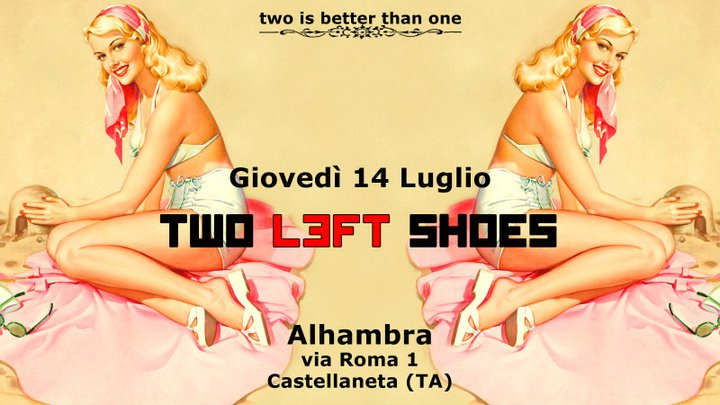 Two Left Shoes In Concerto A Castellaneta Notizie It