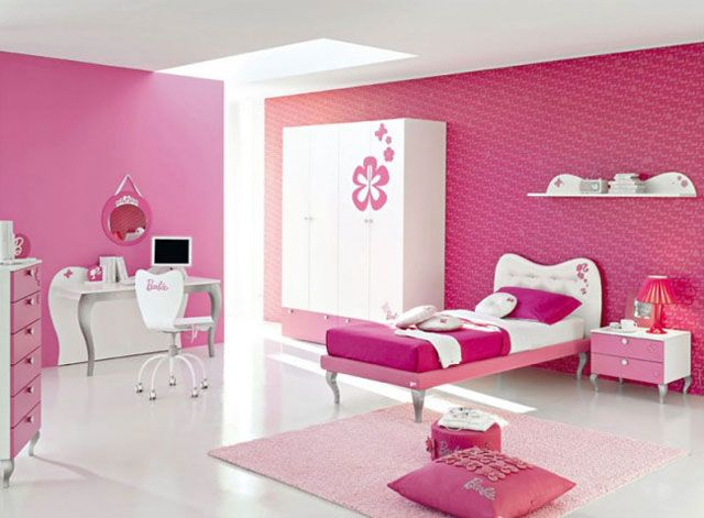 Pink Purple Teenage Girl Bedroom Ideas 640 x 471