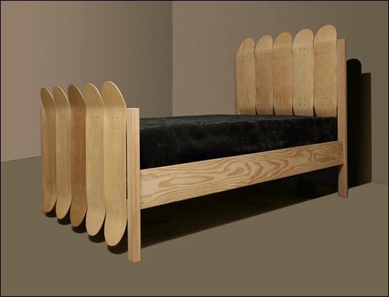 skateboard letto