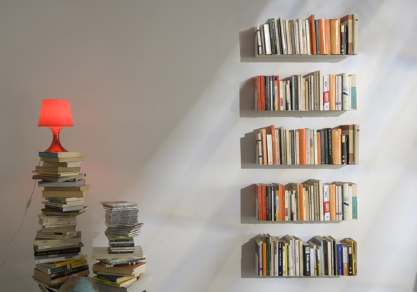 Stunning Libreria Per Camera Da Letto Contemporary - Design Trends ...