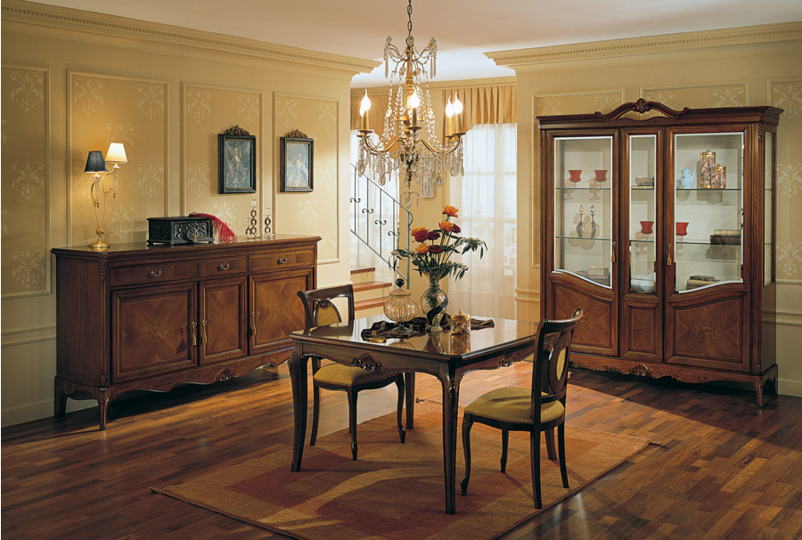 Stilema mobili d 39 altri tempi - Mobili pareti attrezzate classiche ...