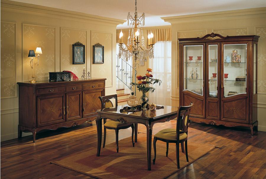 Stilema mobili d 39 altri tempi - Camera da pranzo classica ...