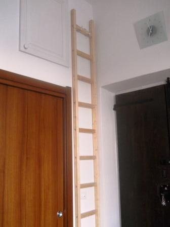 Una semplice scala a pioli for Scale per interni leroy merlin