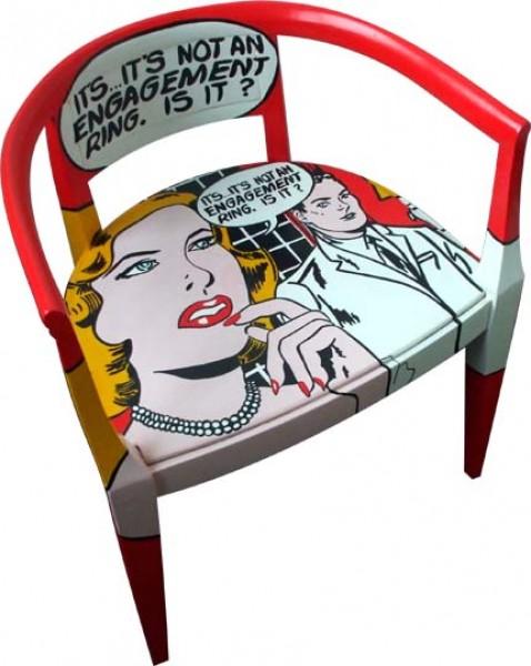 Favorito Arredamento vintage e pop-art: Silvia Zacchello. - Notizie.it WF04