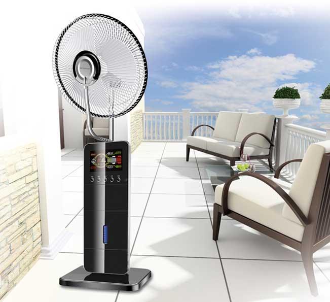 Ventilatore nebulizzatore hydrofresh orieme for Ventilatore nebulizzatore per interni