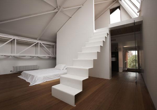una scala giusta per ogni stile ii. Black Bedroom Furniture Sets. Home Design Ideas
