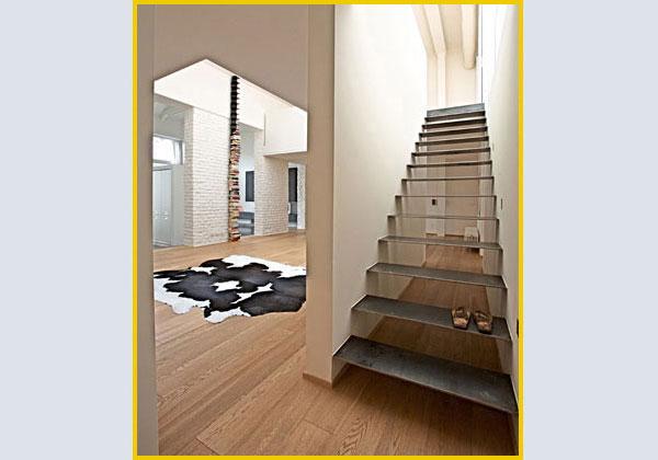 Una scala per ogni stile iv - Scale da interno in muratura ...
