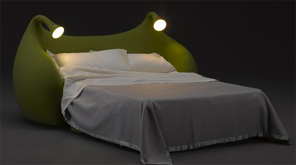 morfeo divano letto con luci