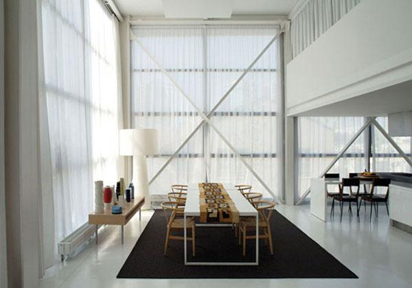 Tende Per Soffitti Alti : Tende per grandi vetrate with tende per grandi vetrate view