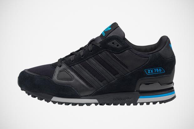 adidas zx 750 nere pelle