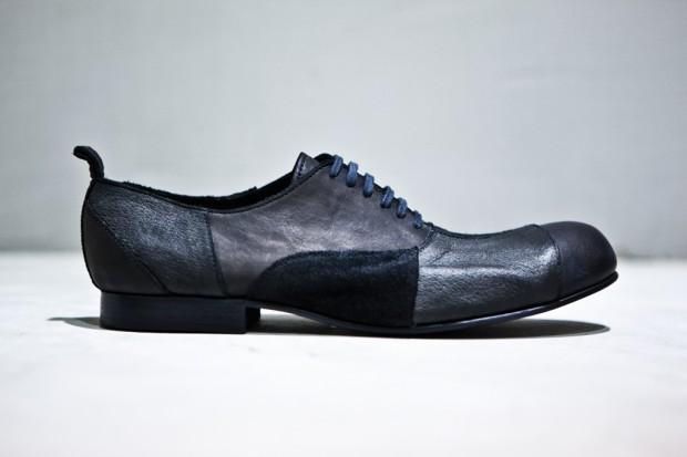 comme des garcons homme plus patchwork lace up shoes 1 620x413
