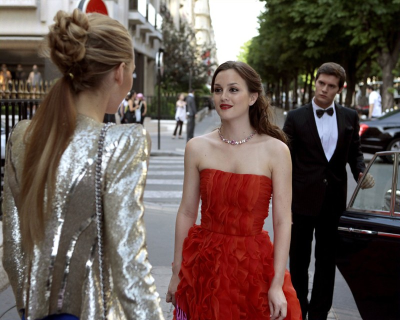 serena blake lively blair leighton meester e louis guest star hugo becker nell episodio double ident 176372