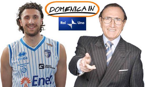 Luca Infante a Domenica In su Rai Uno