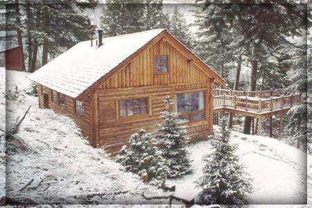 La casa in montagna per il quieto vivere for Piccoli piani di casa di montagna