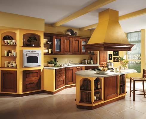 Am lie la cucina rustica della scavolini - Cucine rustiche scavolini ...