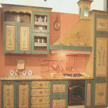 Stupendi mobili artistici decorati a mano - Decorazioni in legno per mobili ...