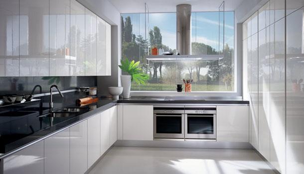 Cucina a l con finestra