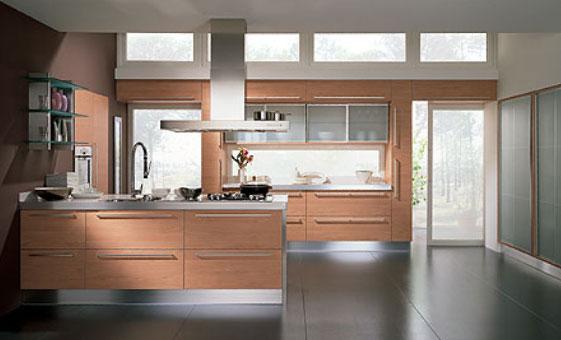 Cucina In Ciliegio Moderna : Cucina life moderna per lo stile e design notizie.it