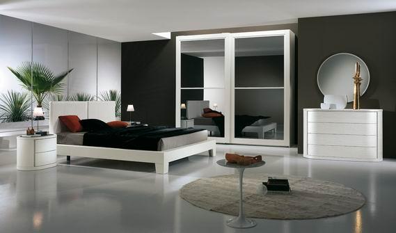 Splendida camera da letto modernissima for 2 piani casa moderna camera da letto