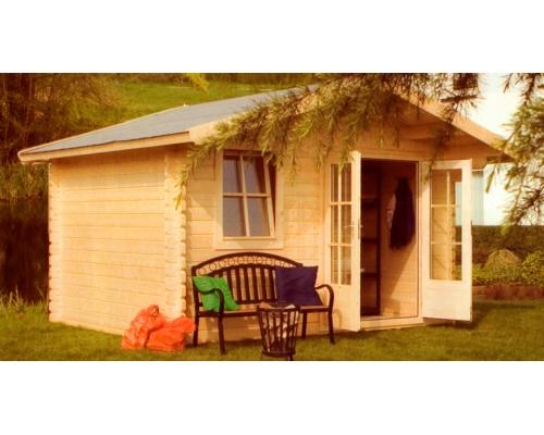 Una casetta in legno da giardino trevigarden - Casette di legno da giardino ikea ...