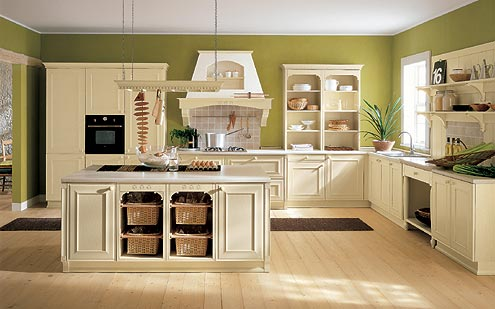 Cucina moderna in stile country - Notizie.it