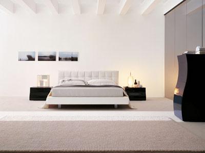 Moderna camera da letto originale - Letto originale ...