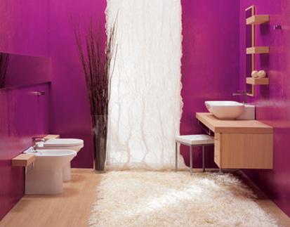 Moderno e rivoluzionario rivestimento di piastrelle bagno - Rivestimento bagno moderno ...