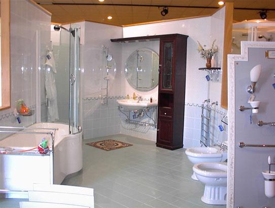 Moderno e sobrio bagno - Accessori moderni bagno ...