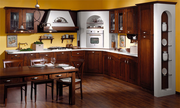 Cucina classica moderna casale for Casa moderna classica