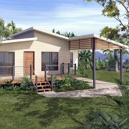 Moderna casa prefabbricata for Migliori case prefabbricate