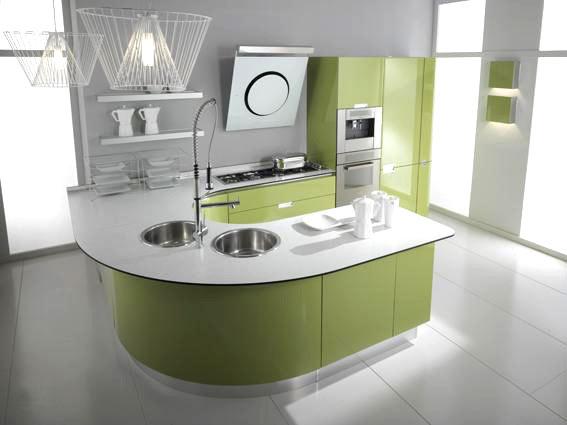Cucina moderna dai toni veramente eccentrici: vero toccasana estetico ...