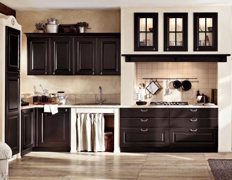 Moderna ed elegante cucina in muratura berloni - Cucina muratura moderna ...