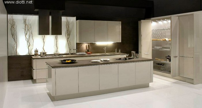 Idee Cucina Design : Moderna ed esaltante cucina laccata - Notizie.it