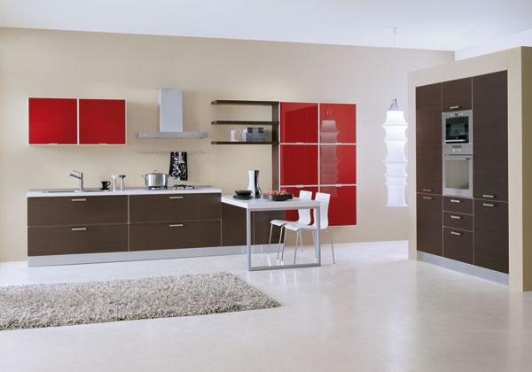 Moderna cucina con colori vivaci - Notizie.it