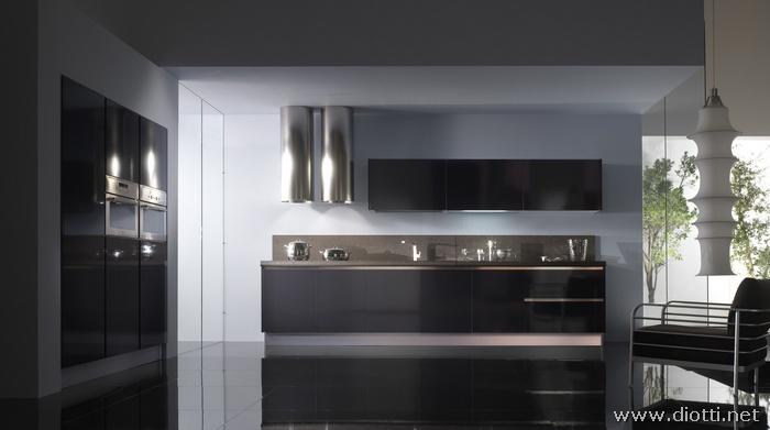 cucine moderne » cucine moderne bianche e rosse - ispirazioni ... - Cucine Moderne Bianche E Nere