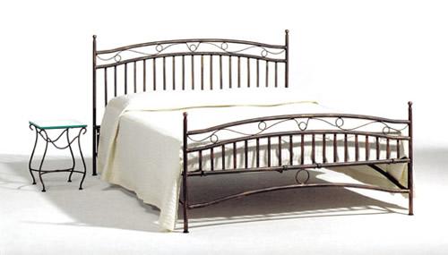 Moderno e originale letto in ferro battuto for Letti in metallo