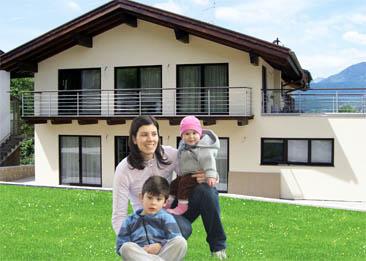 Moderna casa prefabbricata in legno e cemento - Casa prefabbricata in cemento ...