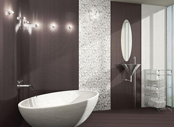 Moderne ed esclusive piastrelle bagno - Piastrelle per il bagno moderne ...