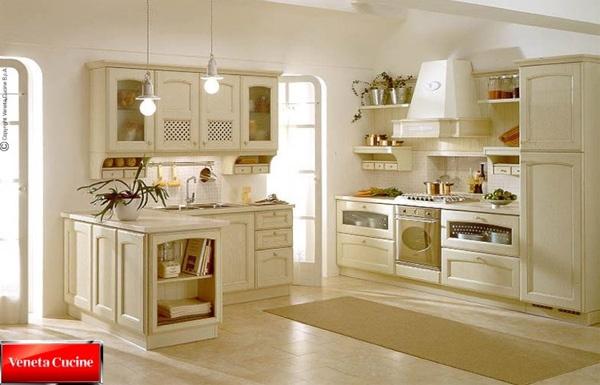 Moderna e rivoluzionaria cucina classica villa d este for Casa moderna classica