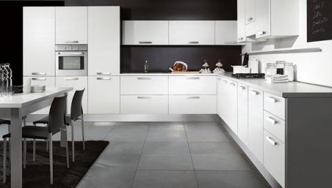 Moderna cucina bianca - Notizie.it