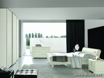 Moderna e rivoluzionaria camera da letto - Camere da letto bianche moderne ...