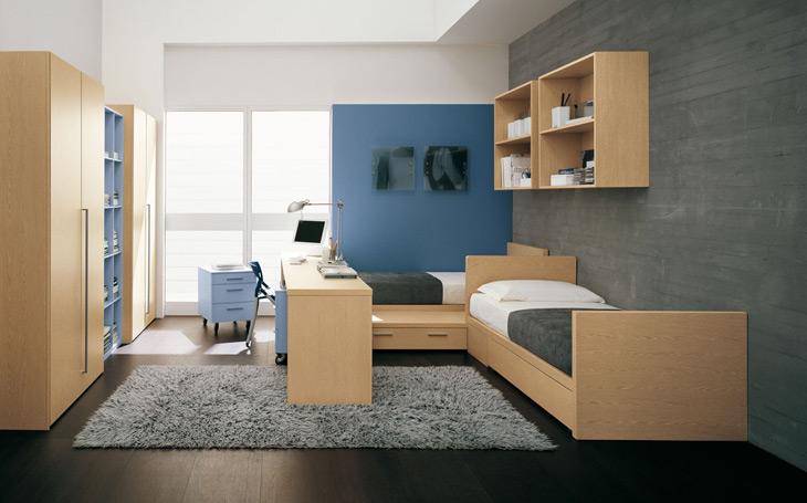 Moderna camera da letto for 5 piani casa moderna camera da letto