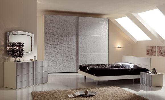 Moderna camera da letto seven for Camera da letto singola moderna
