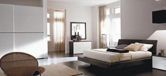 Camera Da Letto Bianca E Nera Moderna : Moderna camera da letto ...