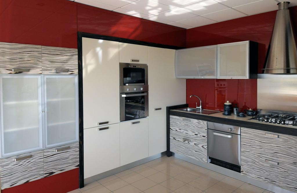 Awesome Cucina Moderna Arredamento Contemporary - Amazing House ...